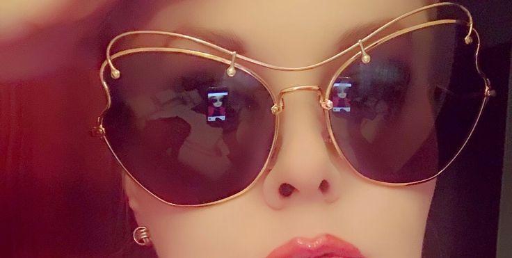 Miu Miu 56 RS Sunglasses ,Scenique ,Antique gold