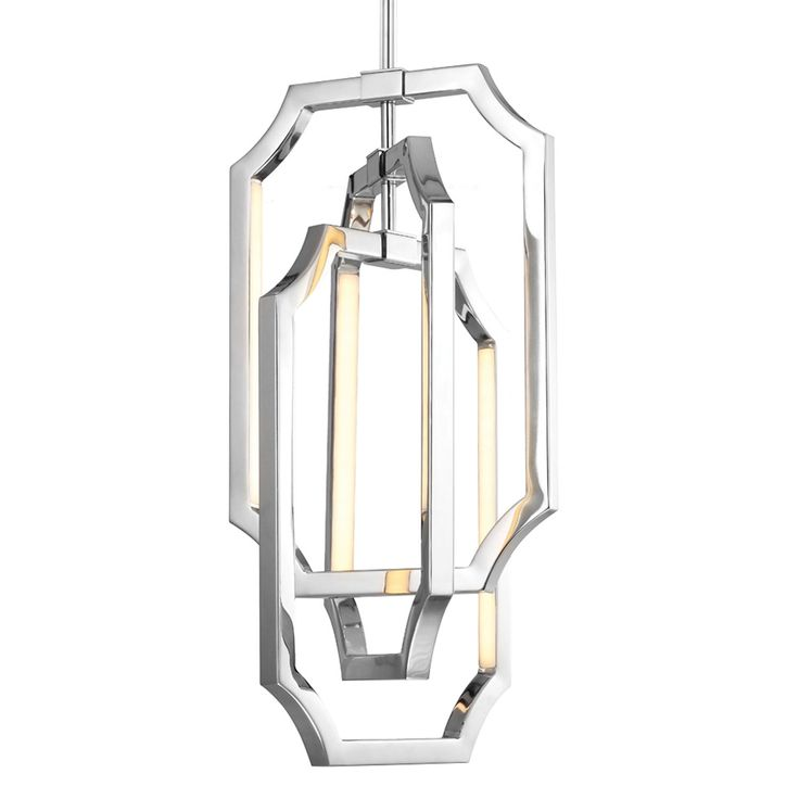 Feiss Audrie Polished Nickel Six Light LED Chandelier On SALE