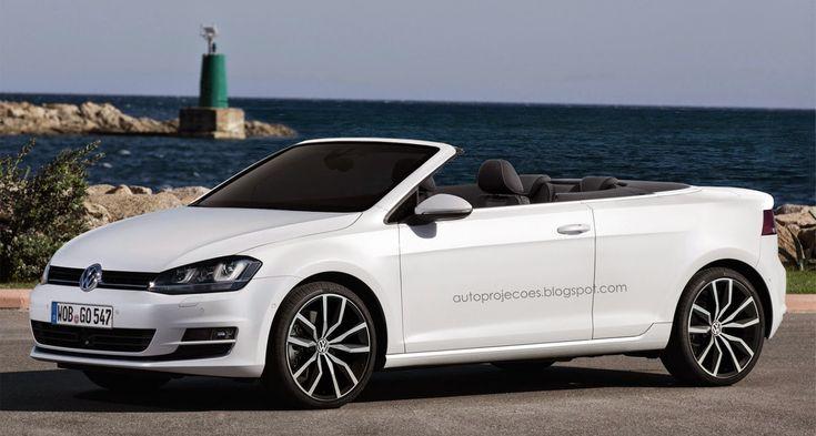 #Volkswagen #Golf 7 Cabriolet