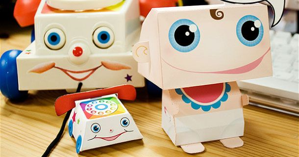 Blog_Paper_Toy_papertoy_Baby_Bot_Linnea_Borjesson