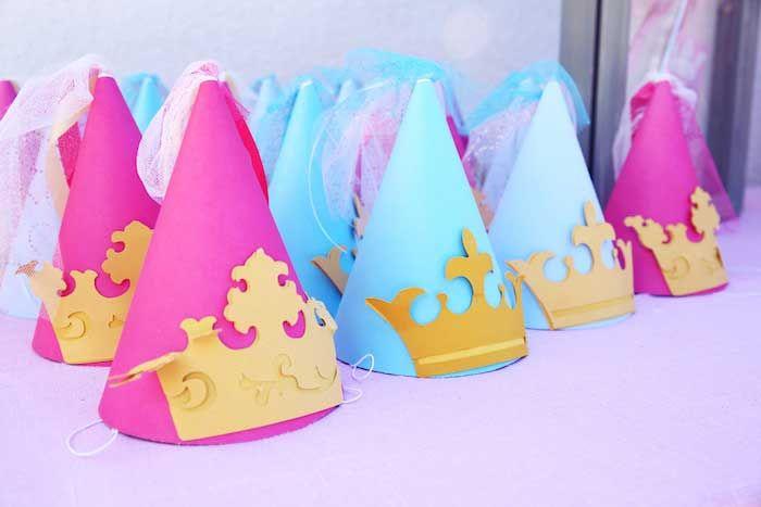Disney Princess themed birthday party + Sophia the First with So Many Cute Ideas via Kara's Party Ideas KarasPartyIdeas.com #princessparty #...