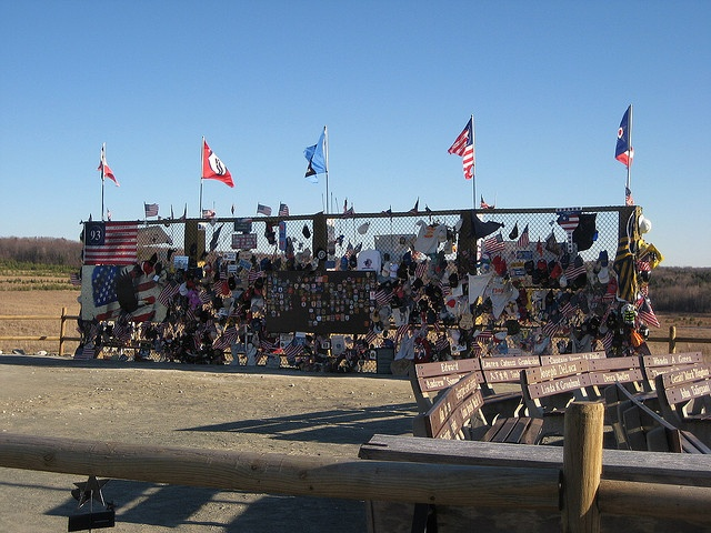 Flight 93 Crash Site and Memorial near Shanksville, PA