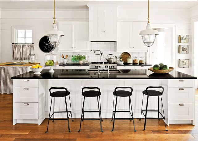 Shaker-style cabinets by IKEA have a modern-vintage look that works in a