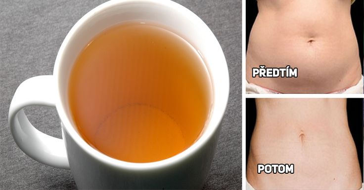 Stačí dva šálky nápoje na hubnutí a můžete dát sbohem břišnímu tuku! Rychlé a snadné! | Vychytávkov
