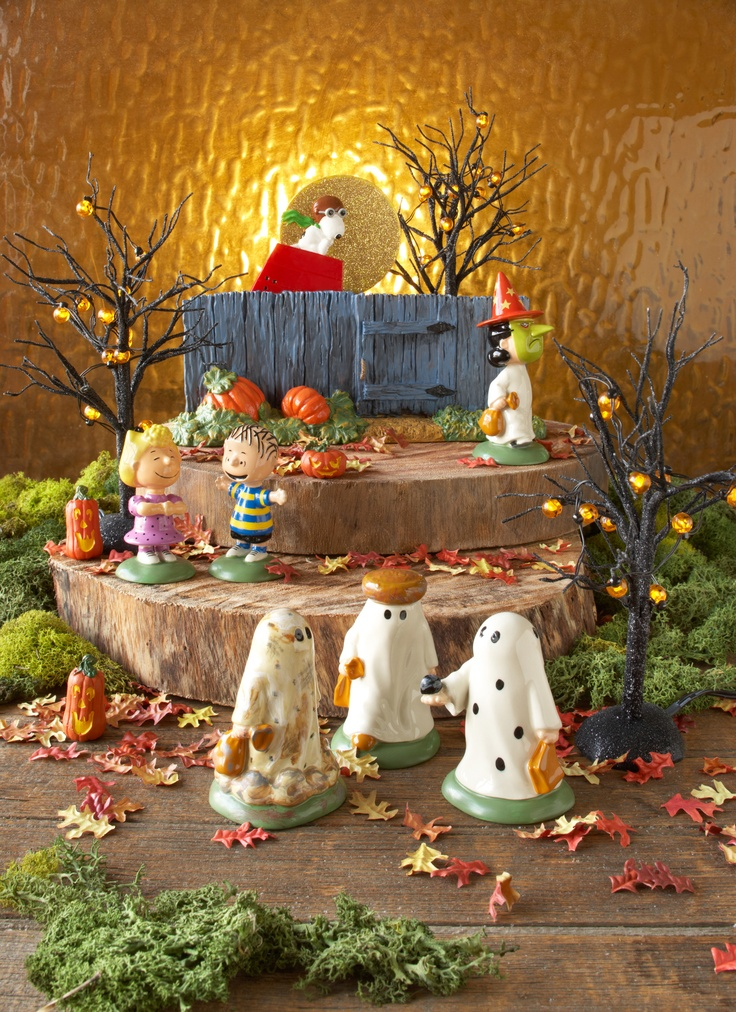 department 56 peanuts halloween