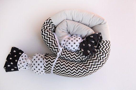 Bambino paraurti cuscino genere neutro paraurti di BandanaShop