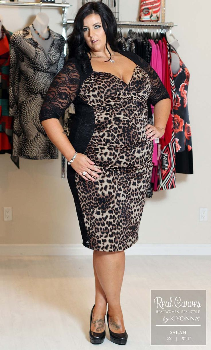 Real plus size dresses