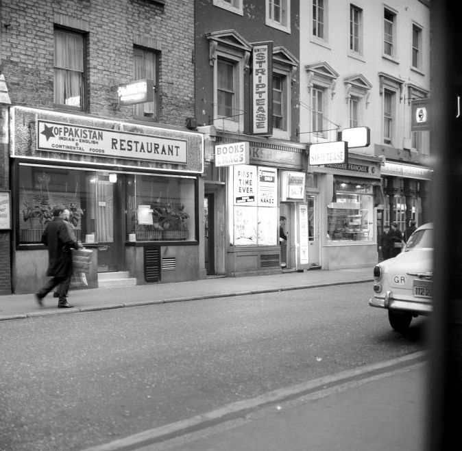 Old Compton Street, 1966. | A time gone by ...
