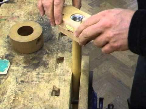 Making a wooden nut cracker (nutcracker) - YouTube