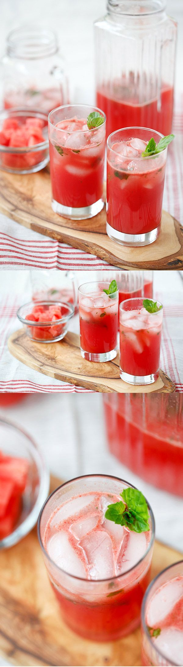 Watermelon Tequila Cocktail #watermelon #tequila #cocktail