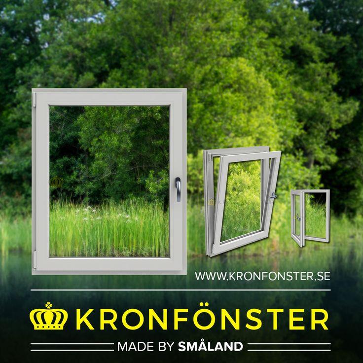 Fönster från Kronfönster - Made by Småland  Polaris: Inåtgående underkantshängt fönster 1-luft 3-glas  #PVCfönster #Polaris #Superenergiglas #fönster #Kronfönster  Läs mer » https://goo.gl/2iyTdt