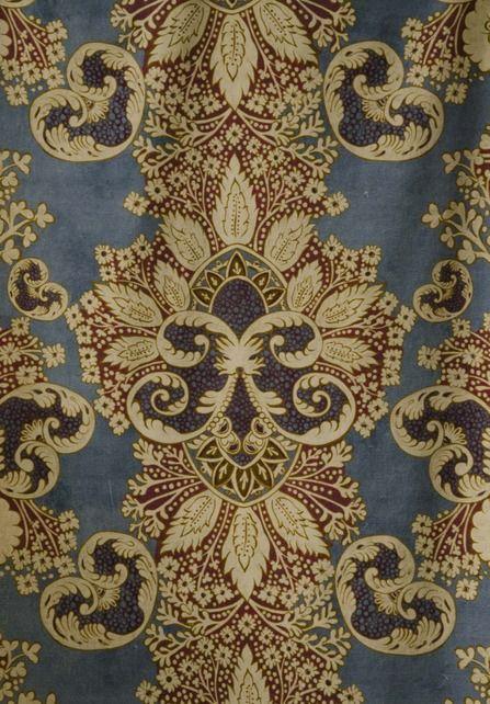 Rococo Velvet Fabrics from our Big Prints range