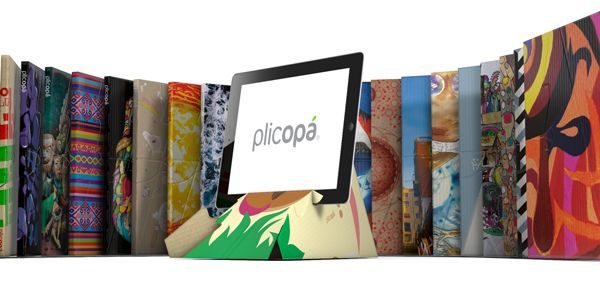 Plicopá reached Japan! Can you understand what they say? http://kickstarter.likeplus1.net/面白いデザインでスタンドにもなるipad用ケース-plicopa/
