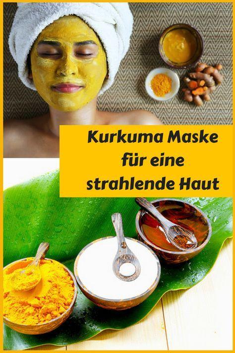 Kurkuma Gesichtsmaske Fur Eine Strahlende Haut Hausmittel Hair