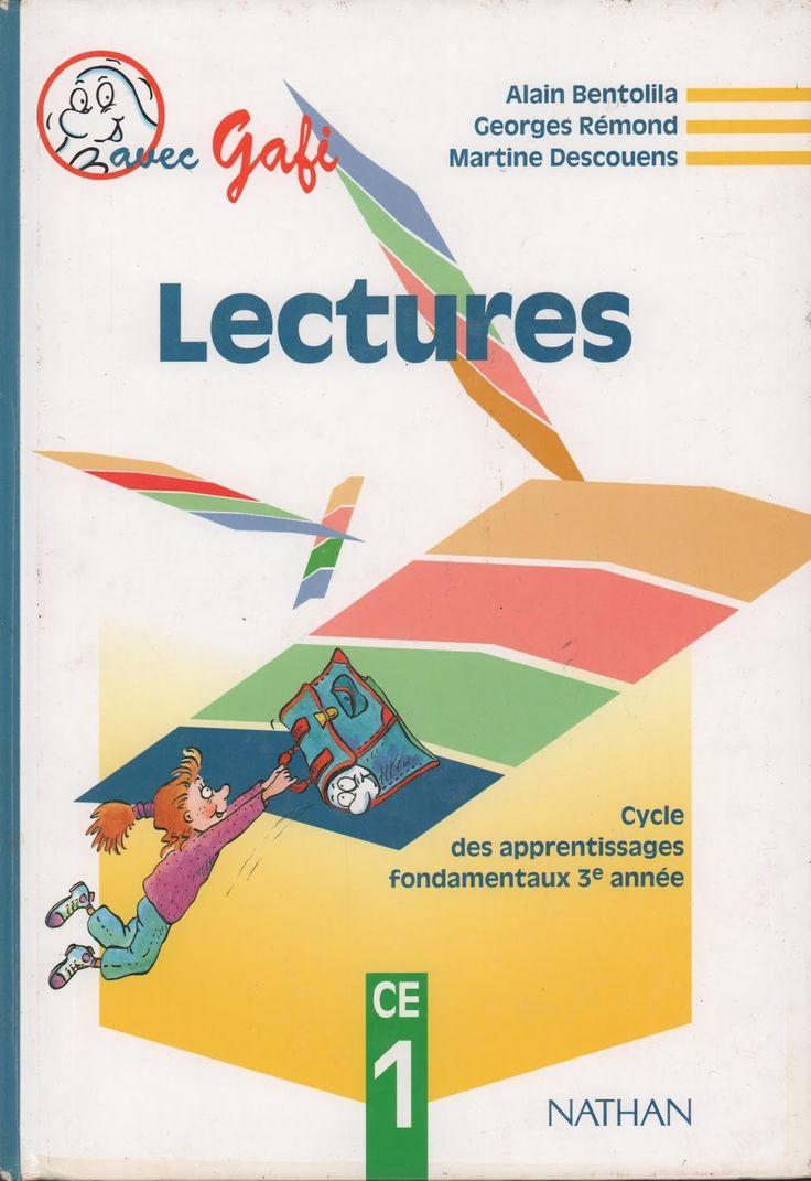 Bentolila, Rémond, Descouens, Lectures CE1 avec Gafi (1994)