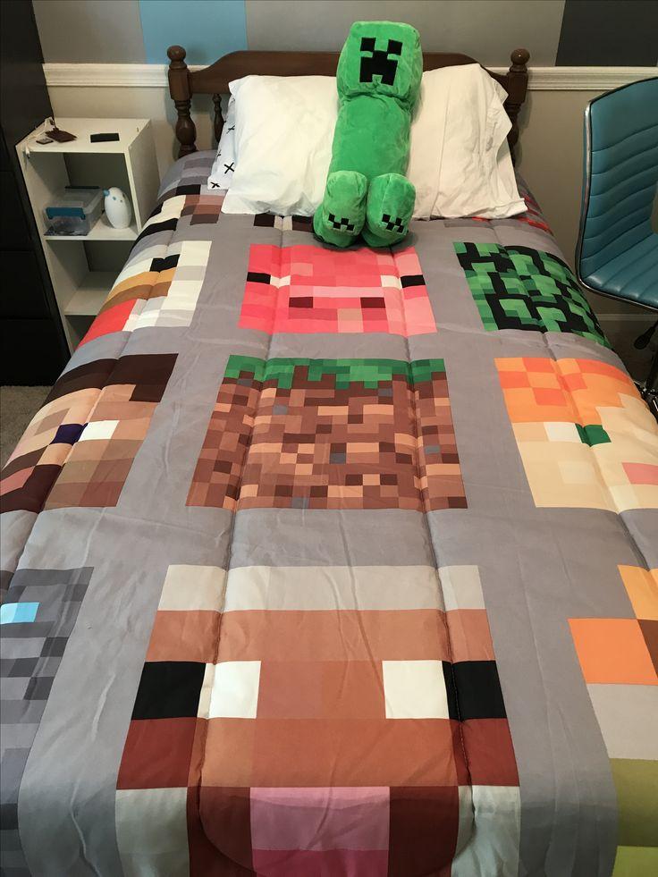 25 Best Minecraft Bedding Ideas On Pinterest Bed