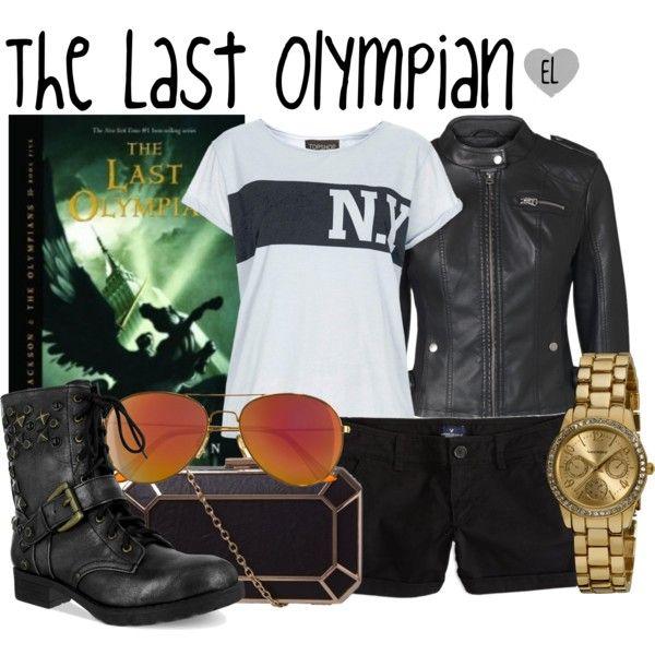 The Last Olympian -- Percy Jackson & the Olympians
