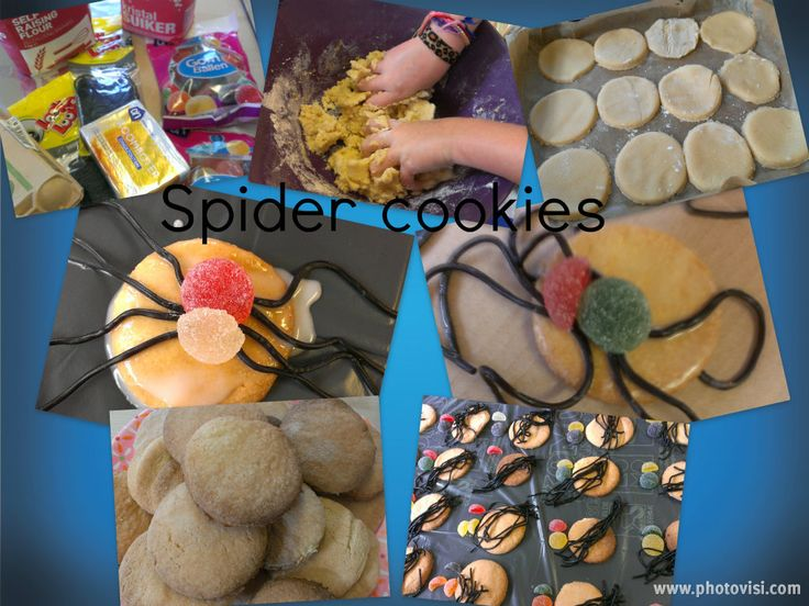 Spider cookies!