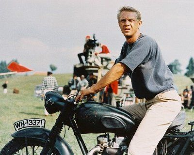 That's Mr. McQueen to you. #motorcycles rule.