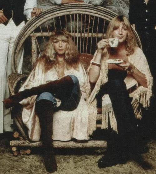 Stevie Nicks and Christine McVie