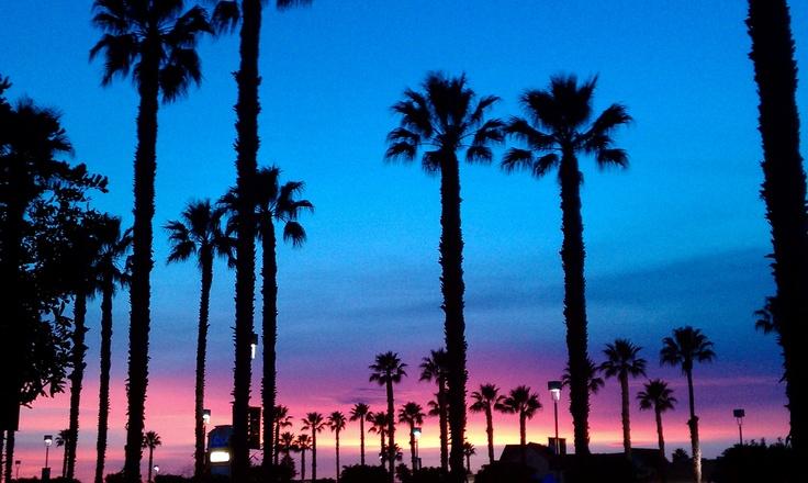 Sunset in Oxnard California