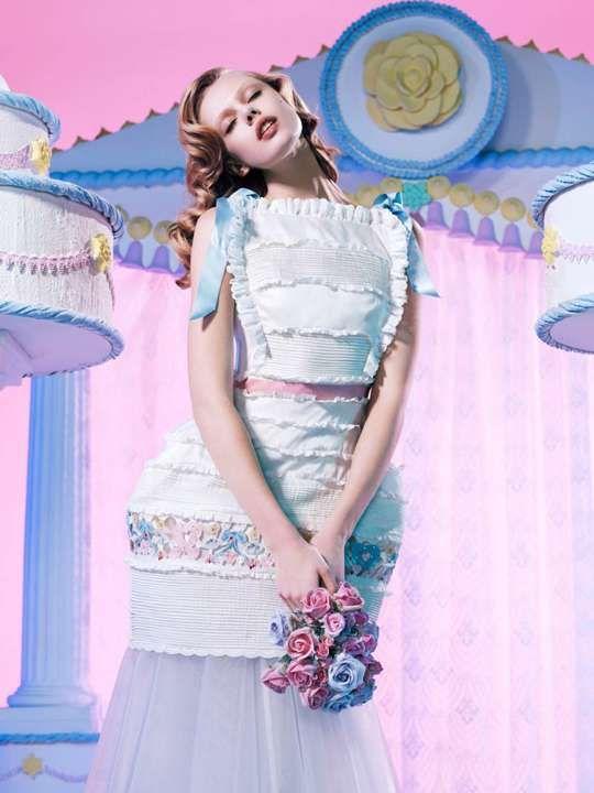 Cakeland Couture Shoots - The POP Magazine SS 2012 Features Frida Gustavsson #fashion #fridagustavsson #popmagazine #springsummer #weddings #marriage #brides