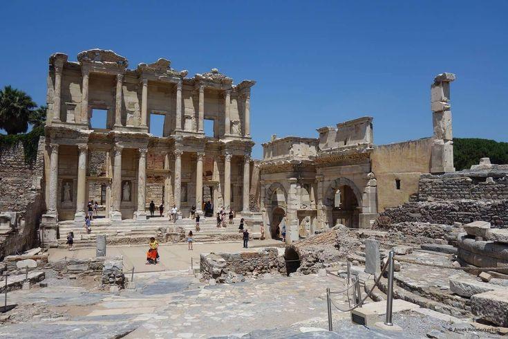 Bibliotheek van Celsus in Efeze, UNESCO Werelderfgoed in Turkije