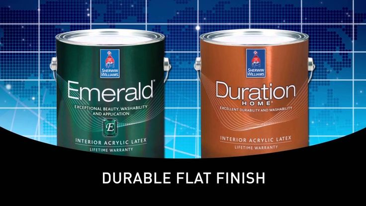 Emerald® Interior & Duration Home Cleanable Flat & |Sherwin-Williams