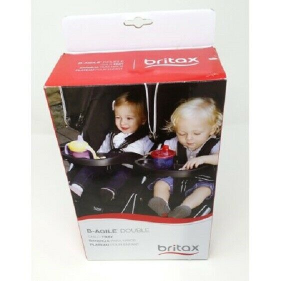 Cup Holders And Snack Trays 180913 New In Box Britax B Agile Double