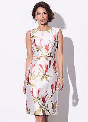 Kaliko Orchid Print Dress #kaleidoscope #dress #ss17