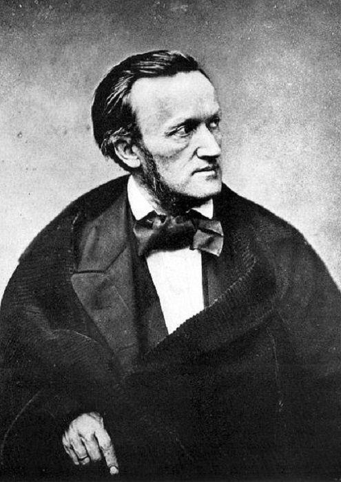 Портрет немецкого композитора Рихарда Вагнера. пьер огюст ренуар