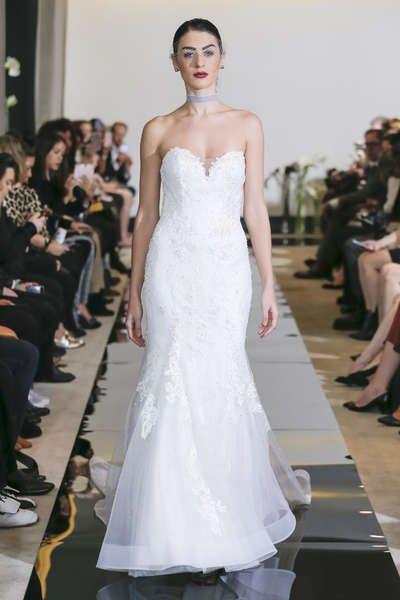 9 best Monochrome Wedding Dresses images on Pinterest | Short ...