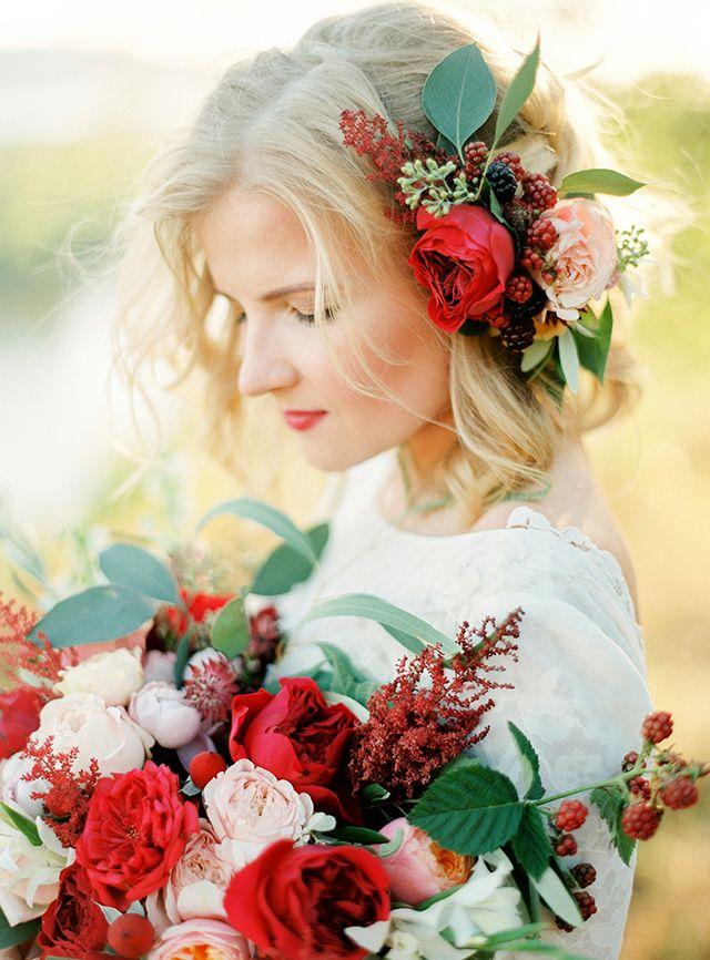 Valentina & Valeriy. Rustic Marsala Wedding in Samara