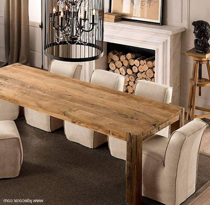 25 best ideas about mesa comedor madera on pinterest - Mesas de madera rusticas para bodegas ...