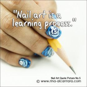 Nail Art Quote Picture No.5 | fun with nails אנקדוטות לקים