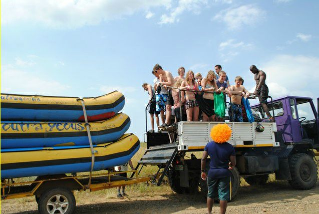 Outrageous Adventures - rafting the ash river. Havent done this yet but its definitely on my bucket list.