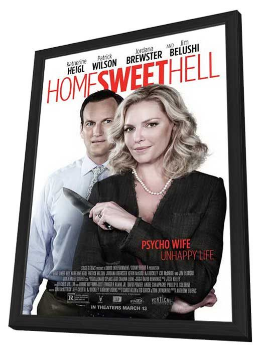 Home Sweet Hell 11x17 Framed Movie Poster (2015)