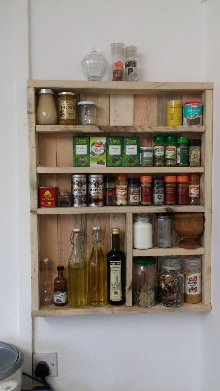 #manikinhead #food Hand crafted spice rack.