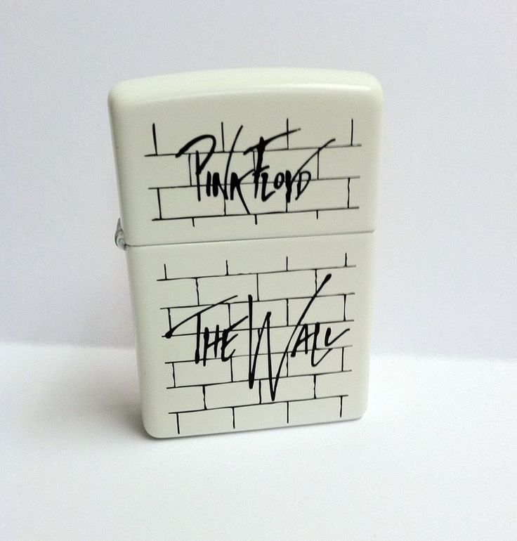 New Pink Floyd The Wall Zippo Lighter CD LP RARE Classic Rock
