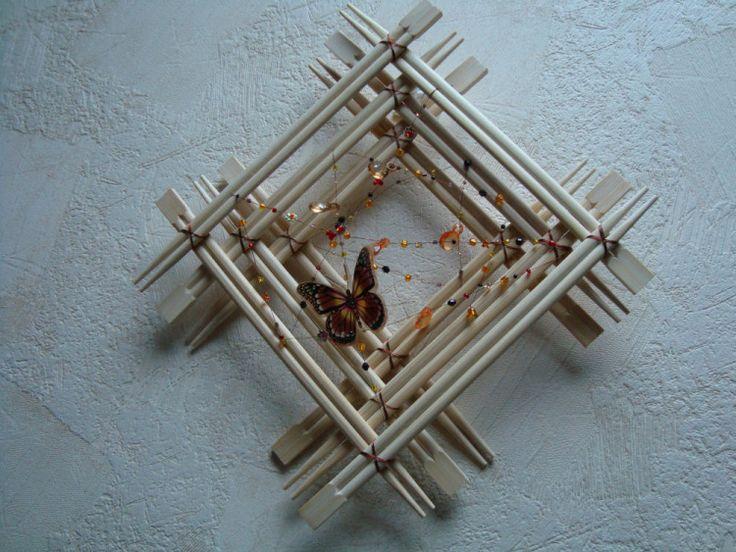 Картины из бамбука своими руками фото что