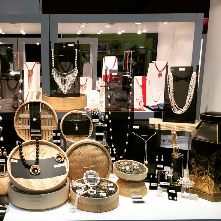 MOKO AW16 trade fair display at Design Life AGHA Home & Giving Fair in Sydney Australia  -handmade Jewellery  www.moko.co