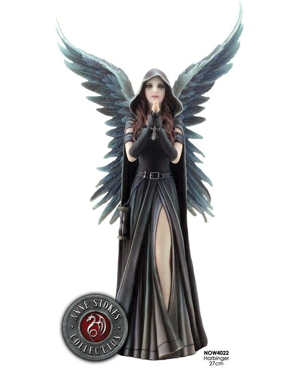 figurine ange gothique Harbinger. Anne Stokes collection 2013
