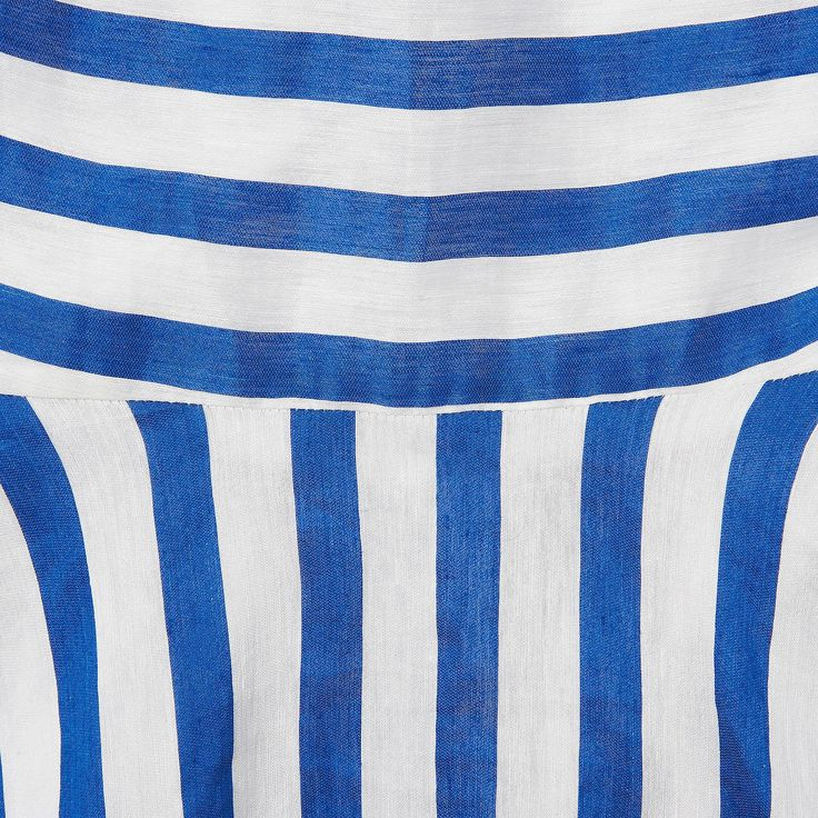 Harpa Striped Full Midi Dress | Clothing | New Arrivals | Collections | L.K.Bennett, London