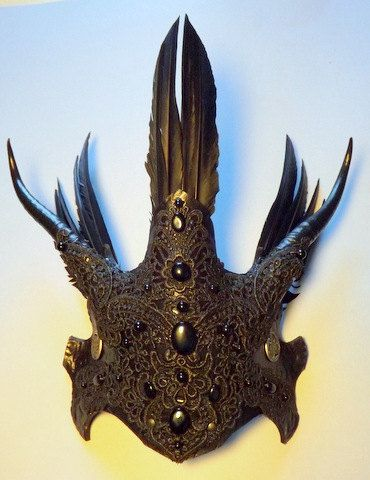 Morrigan Helm by VincentCantillon on Etsy, $160.00