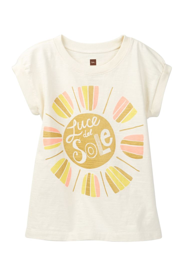 Luce Del Sole Graphic Tee (Toddler, Little Girls, & Big Girls)