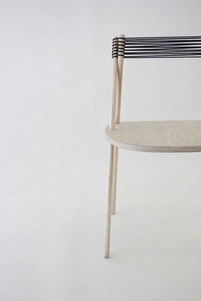 Purist Chair by Elisa Honkanen #design #minimalism #wood