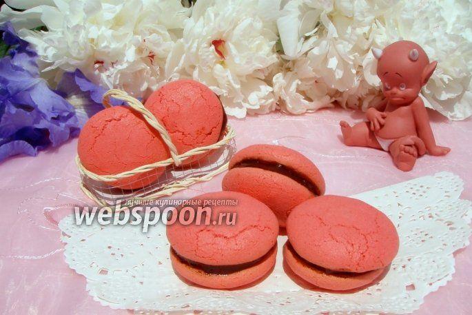 Фото Печенье Red Macarons