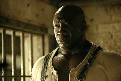 "Michael Clarke Duncan as John Coffey in ""The Green Mile""   Who would think that two of my favorite movies are Stephen King short stories?"