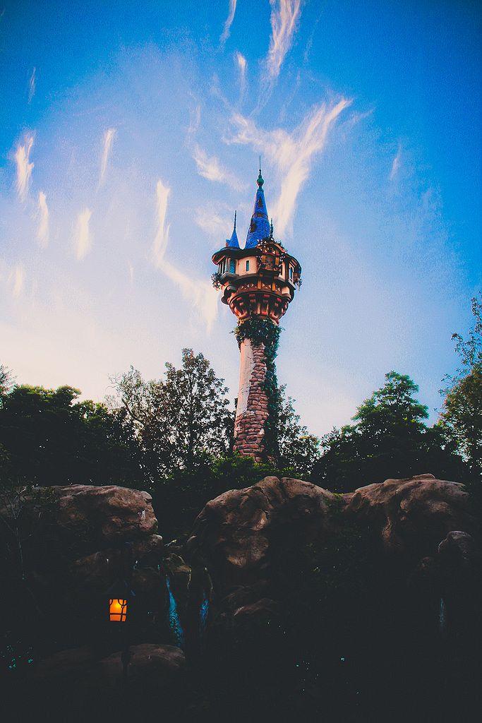 Rapunzel's Tower, Walt Disney World, Florida, USA