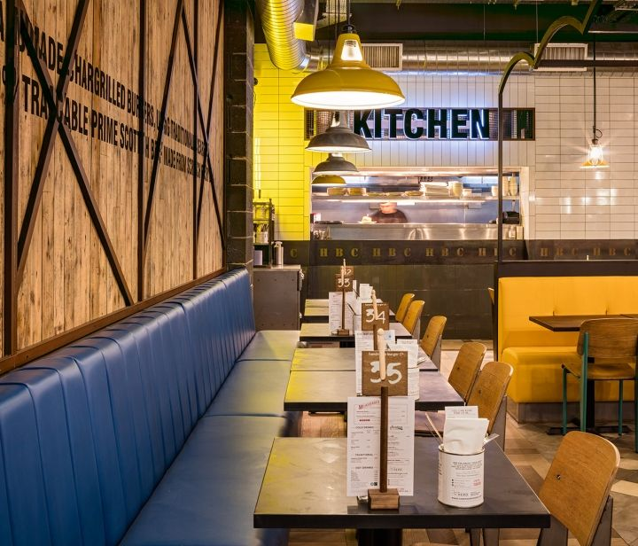 A New Low Cost Fit Out Of Restaurant In An Existing Shopping Centre East Kilbride Developing Further Ideas On The Use Reclaimed Materials